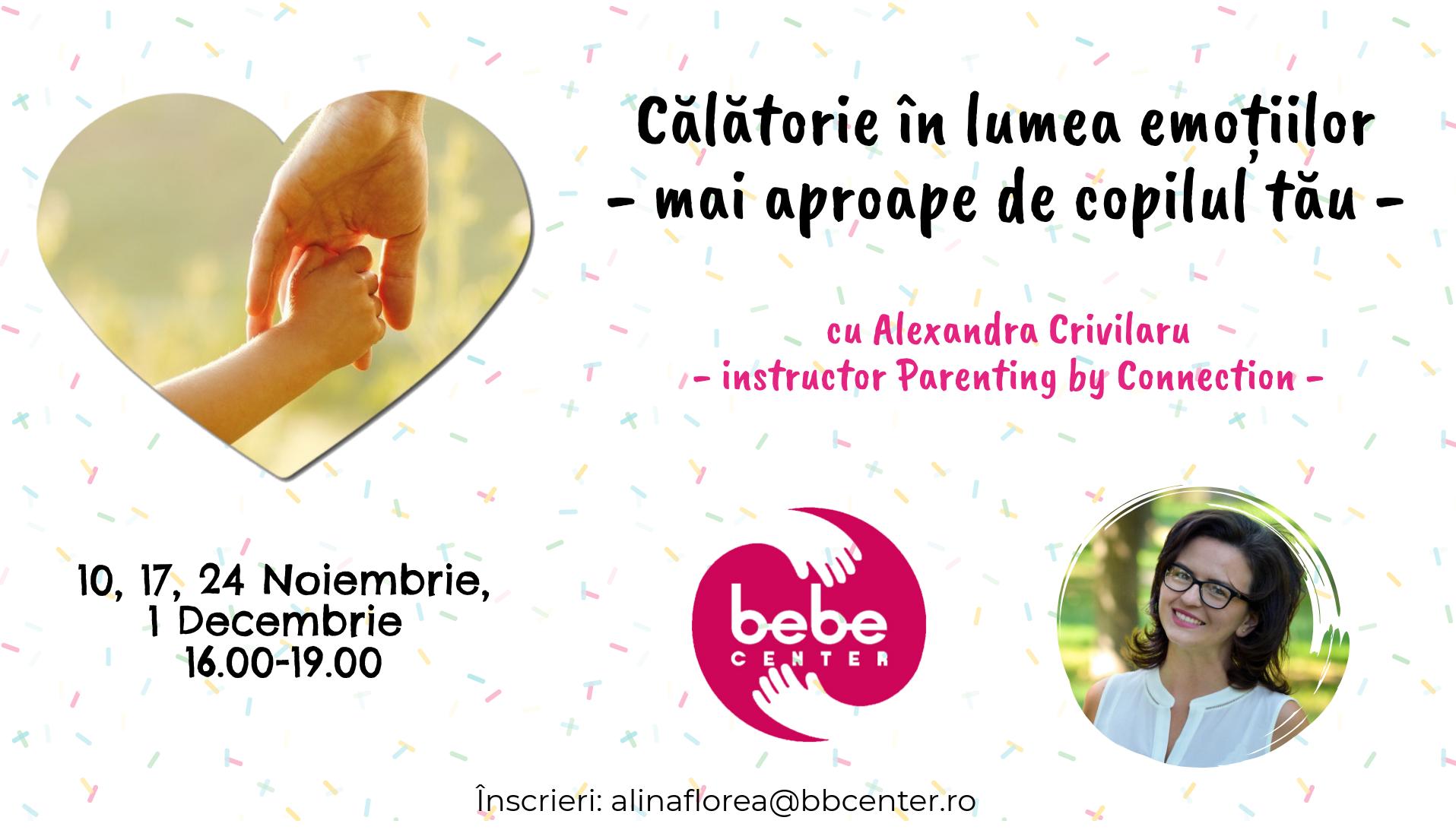 Călătorie în lumea emoțiilor - mai aproape de copilul tău @ BB Center Constanța | Constanța | Județul Constanța | Romania